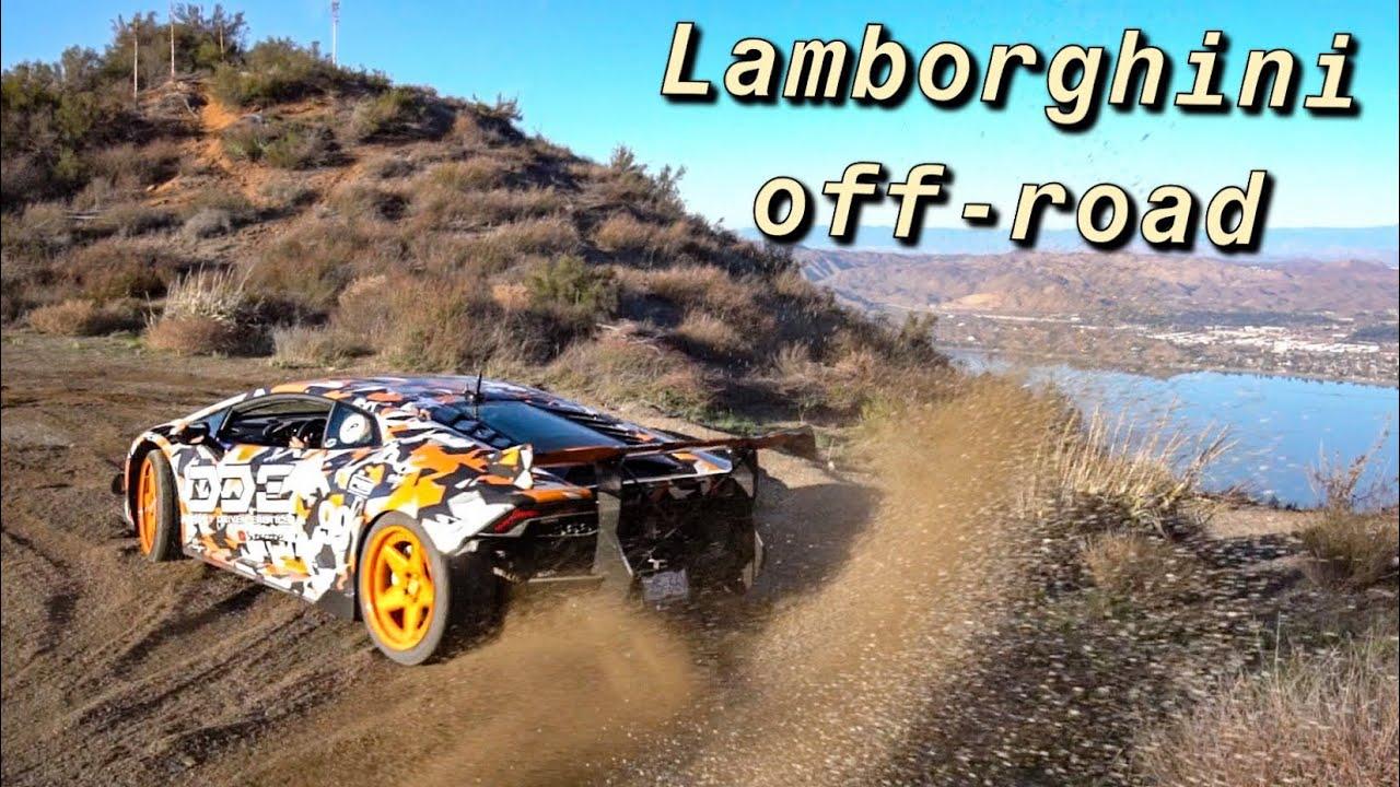 Lamborghini Goes Off Road Playing In The Dirt Video Mas Popular
