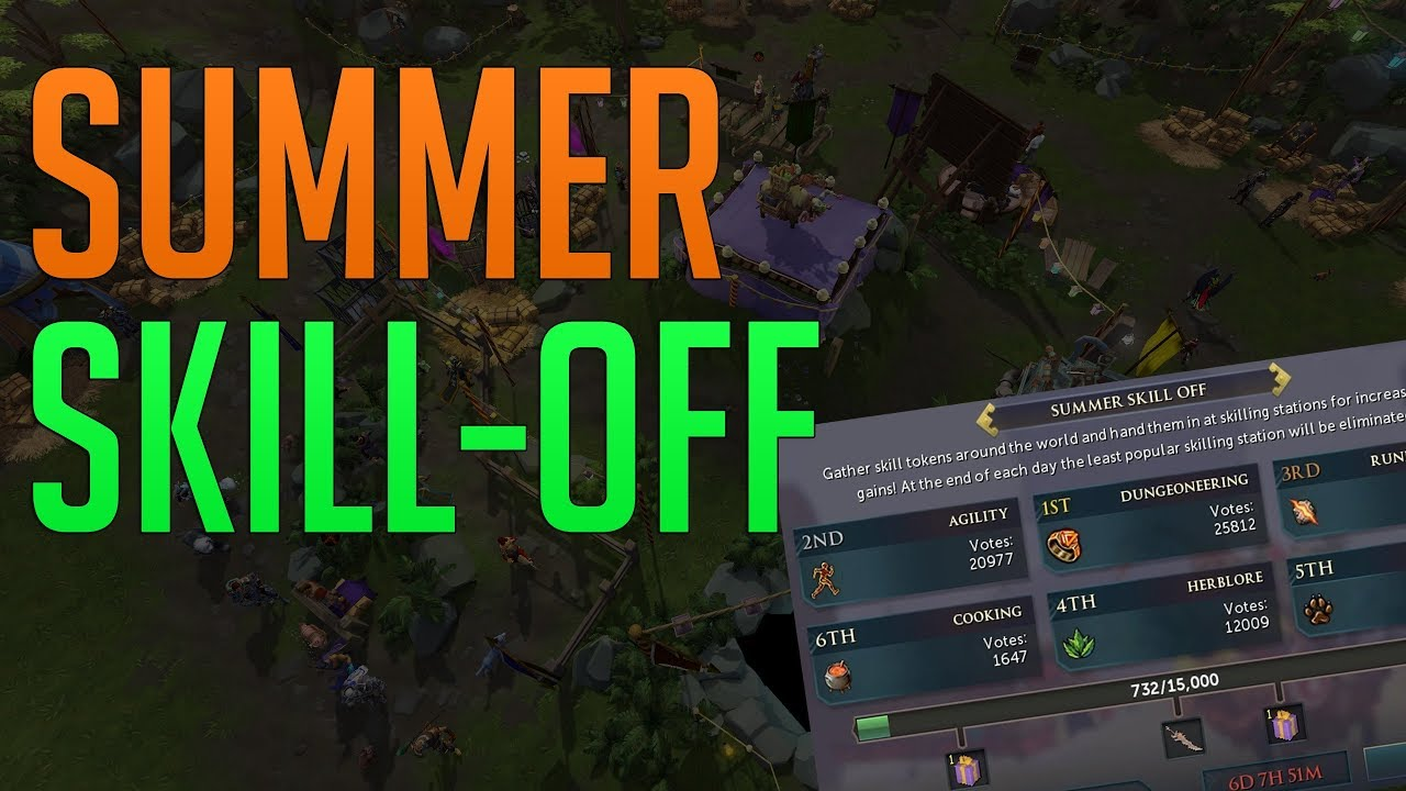 RS3 Summer Skill-off event - Great for AFK gains