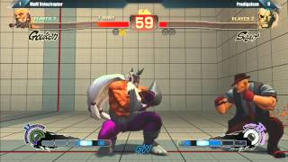 USF4: Prodigitalson vs MoM Velociraptor - Hadocon VI