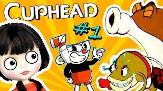 ДВЕ ЖАБЫ ???? Прохождение игры CUPHEAD - Чашка Голова | Геймплей игры как мультик КАПХЕД