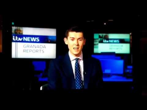 Blooper! On ITV News!