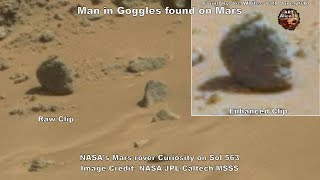 New Statue Found on Mars - Or is it a Mummy ? ArtAlienTV