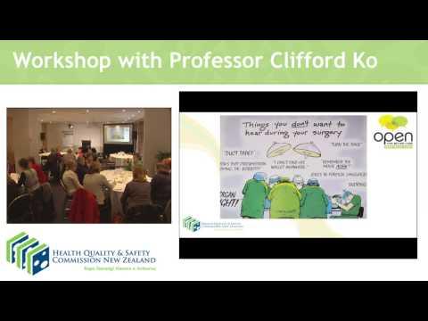 Briefing and debriefing – Wellington workshop