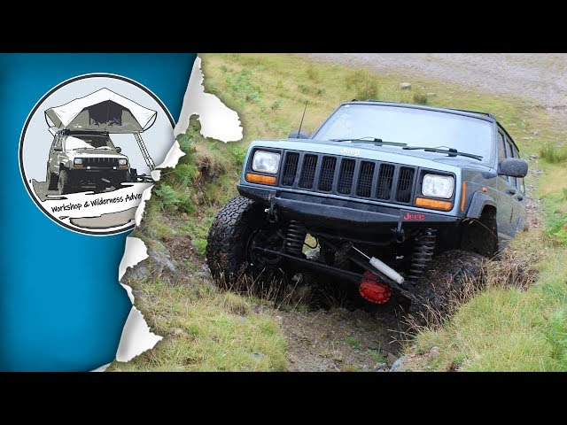 Jeep Cherokee XJ Ruffstuff Unibody Stiffeners