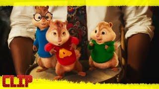 """Alvin y las Ardillas: Aventura Sobre Ruedas Clip """"Uptown Munk"""" Español"""