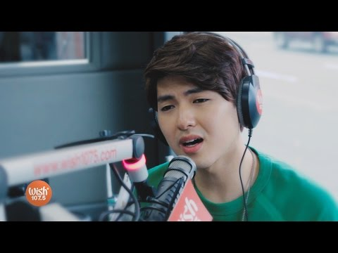 "Yohan Hwang sings ""Wag Ka Nang Umiyak"" LIVE on Wish 107.5 Bus"