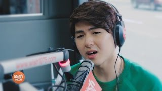 "Yohan Hwang sings ""Wag Ka Nang Umiyak"" LIVE on Wish 107.5 Bus"