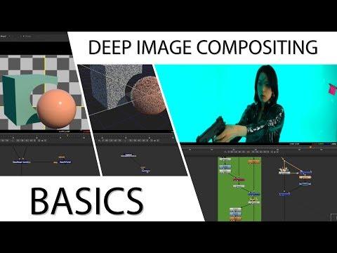 Arnold / Nuke - DeepEXR, Keying, Compositing - Basic Steps