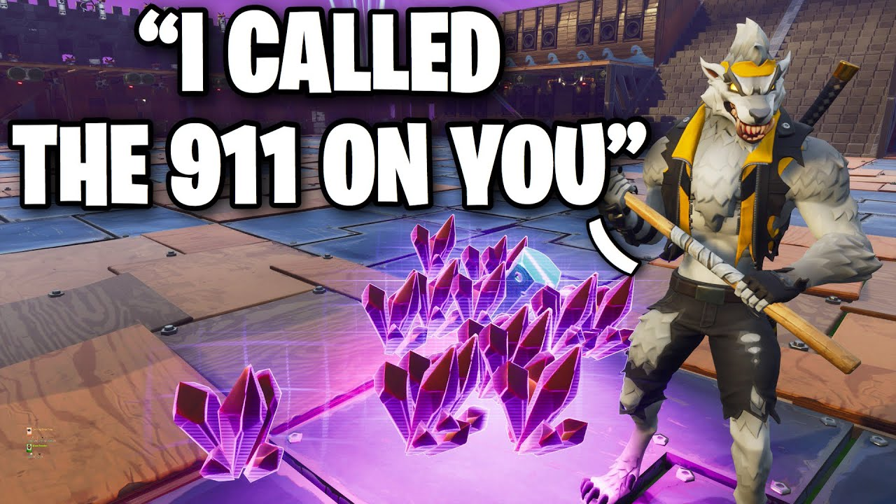 Scammer calls 911 and they show up!! 🚓🚔 (Scammer Get Scammed) Fortnite Save The World
