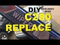 Wiper blade replacement Mercedes Benz C280 how to W202 1993 through 2000 single blade