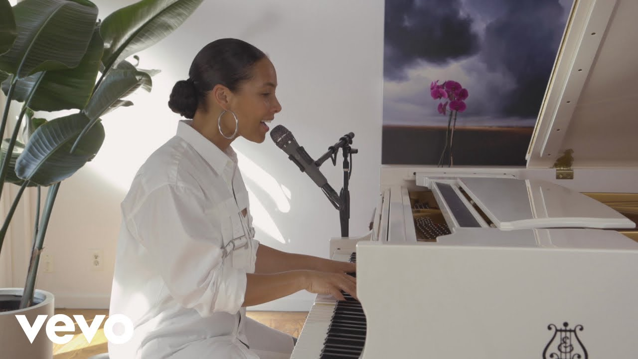 Alicia Keys Good Job Robin Hood Relief Performance Youtube