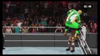 WWE 2K19 Dimond championship match Teagues Games vs xaiver