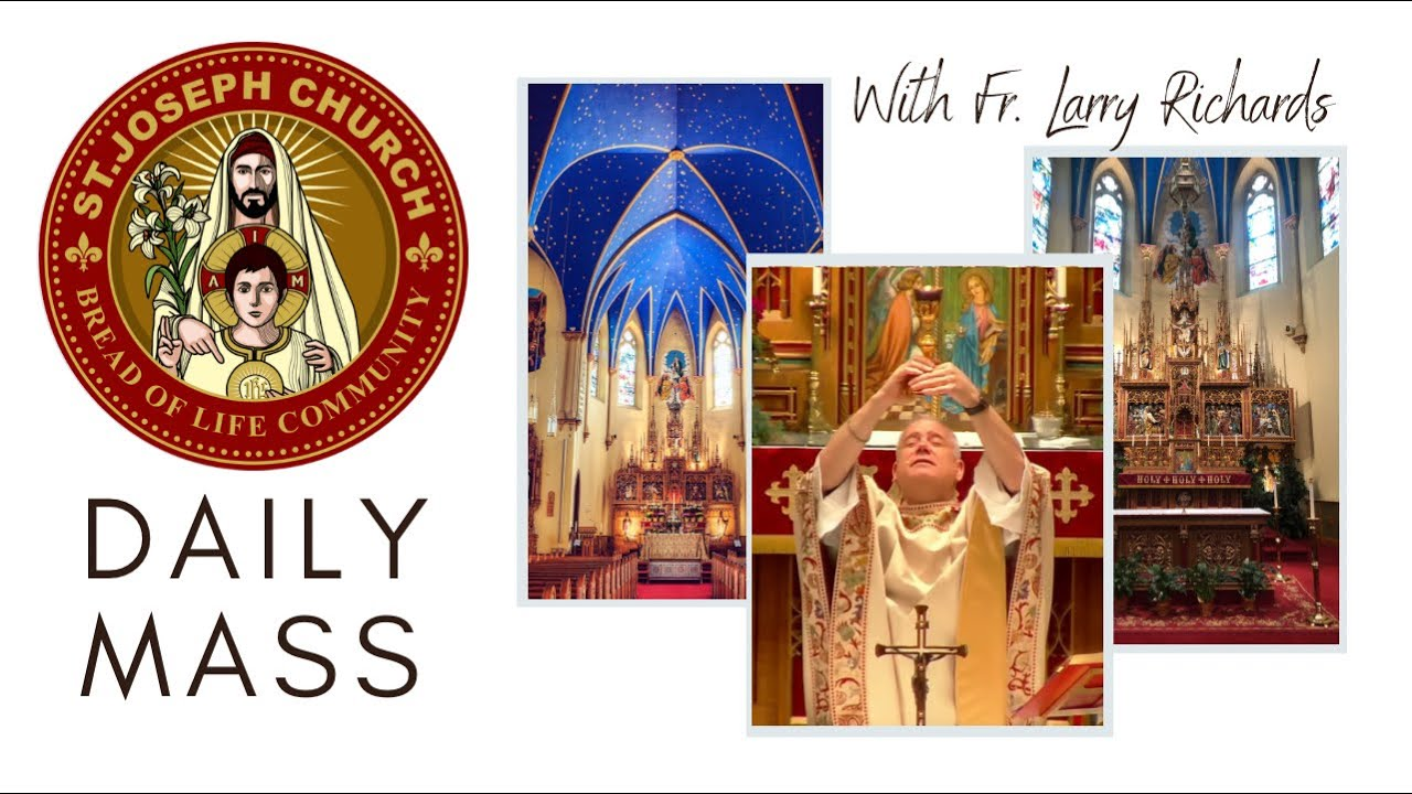 Download Daily Mass Video, Monday, August 2, 2021