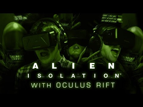 How Scary Is Alien: Isolation With Oculus Rift? *EXPLICIT*