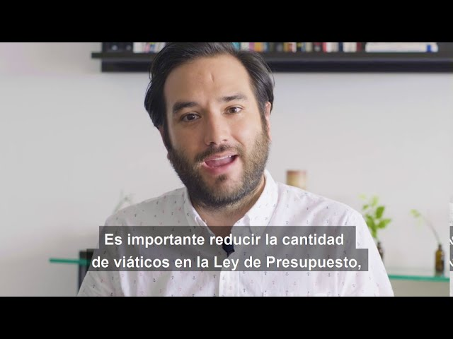 Gabriel Silva - Anteproyecto de Ley Viáticos