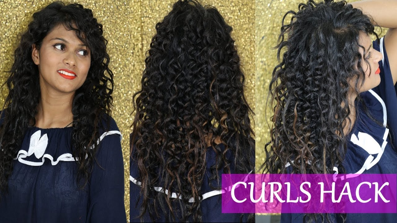 | magical diy | how to get spiral curls without a curling iron | starlets |