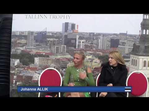 Johanna Allik Free Skate ISU Tallinn Trophy 2017