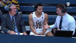 Cal's Matt Bradley talks after 24-point performance Video
