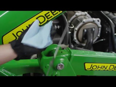 How To Change Your Engine Oil and Filter - John Deere Compact Utility Tractors
