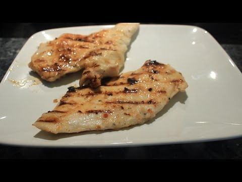 Grilled Chicken Breast & Thighs W  Italian Dressing Marinade