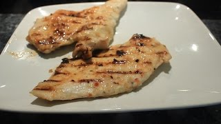 Grilled Chicken Breast & Thighs W  Italian Dressing Marinade