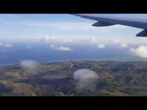 Boeing 777 Over Cocos Island
