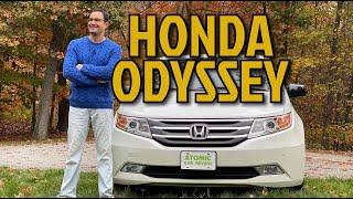 Хонда Одиссей: самый желанный минивэн Америки.  Полный обзор Honda Odyssey