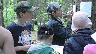 Обучение ориентированию в туристском лагере