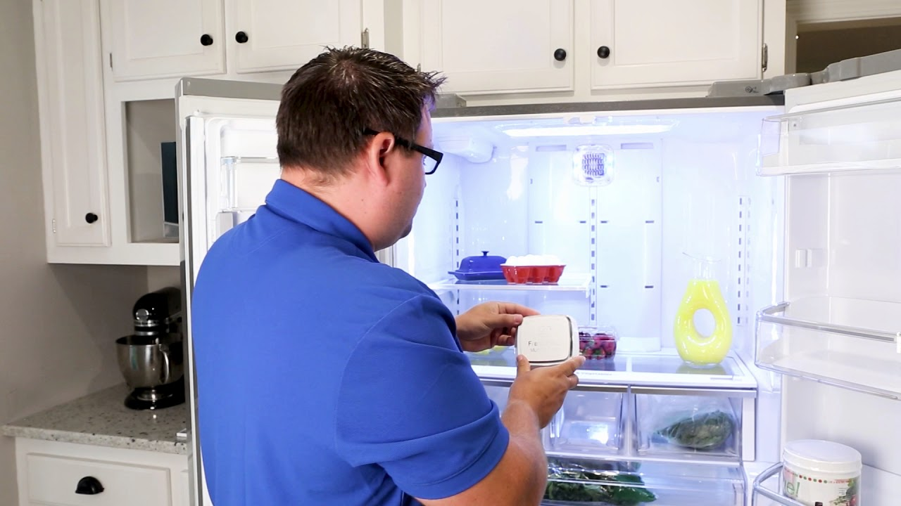 hight resolution of how to replace the air filter in your lg french door refrigerator filter model lt120f