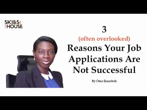 3 (Possible) Reasons Why You Didn't Get That Job Offer