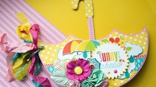 Альбом-зонтик - обзор. Nadya Lifa