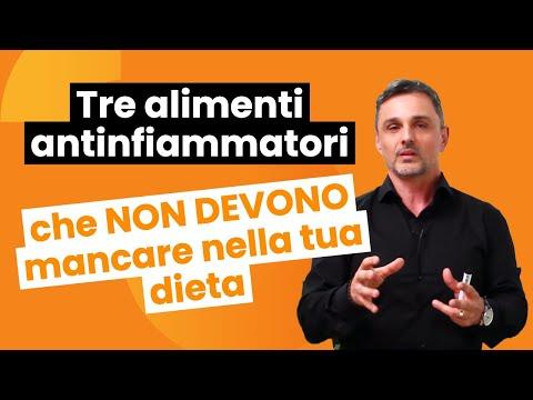 Tre alimenti antinfiammatori che non devono mancare nella tua dieta | Filippo Ongaro