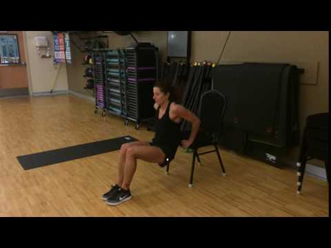 Best Arm Exercises for Women #3: Triceps Dip
