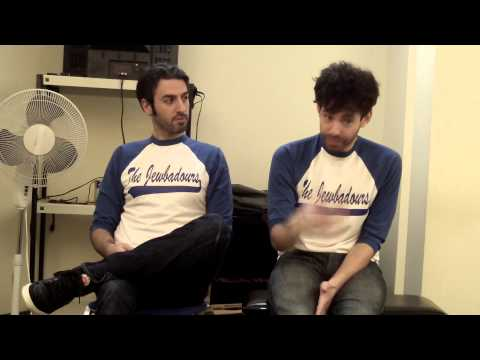 A-Sides Interview: The Jewbadours (12/16/2014)