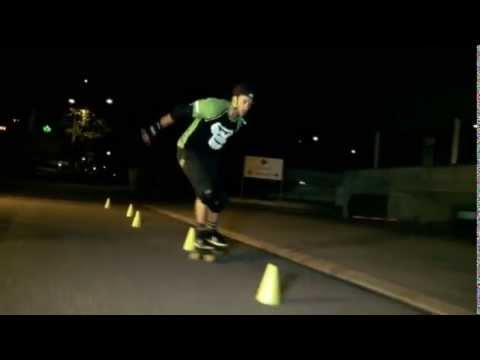 GORILLA Slalom- und Longboard - Kurven fahren (4) D