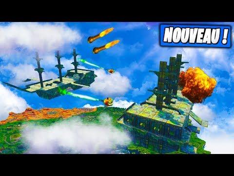 New ! Lance Citrouilles & Quadrilanceur sur les Nouveaux Bateaux Geants ! Fortnite Terrain de Jeu