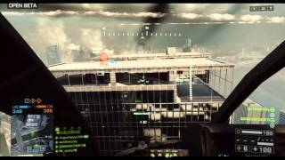 Battlefield 4 BETA - Little Bird GAMEPLAY