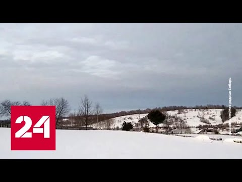 """""""Погода 24"""": Южную Сибирь накрыли рекордные снегопады - Россия 24"""