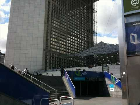 Paris - La Defense (european travel) business district