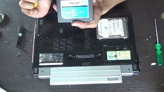 DELL LATITUDE E4310 UPGRADE/REPLACE HDD with SSD.