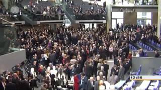 Wahl des Bundespräsidenten Joachim Gauck am 18.03.2012 im deutschen Bundestag