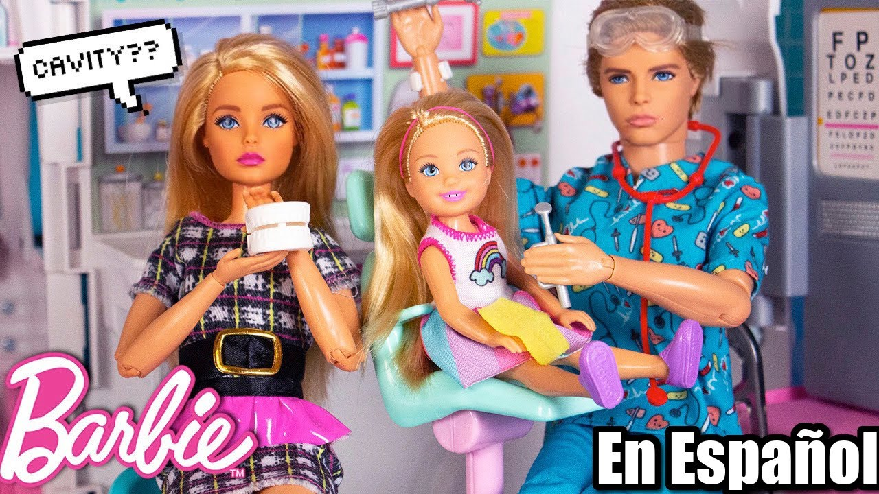 Barbie Chelsea va al Dentista! Tiene su Primera Caries?