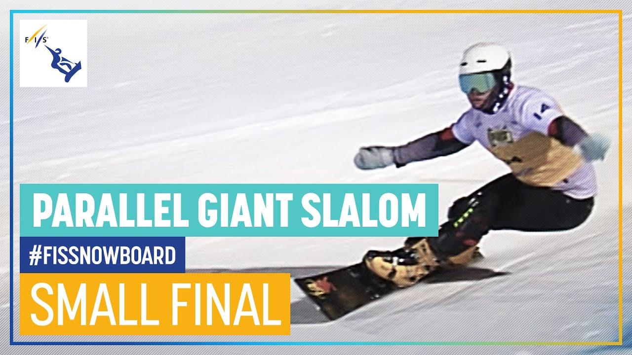 Mathies vs. Sluev | Men's Small Final | PGS | Cortina | FIS Snowboard