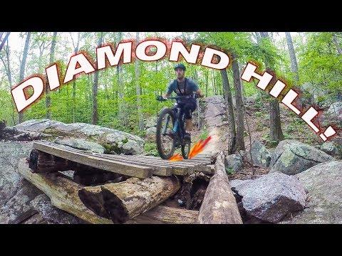 Mountain Biking Diamond Hill Trails | Cumberland, Rhode Island
