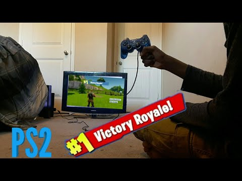 GETTING MY FIRST FORTNITE PS2 WIN!!