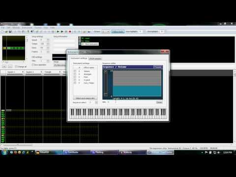 Famitracker Tutorial Part 1 - The Instrument Editor and You