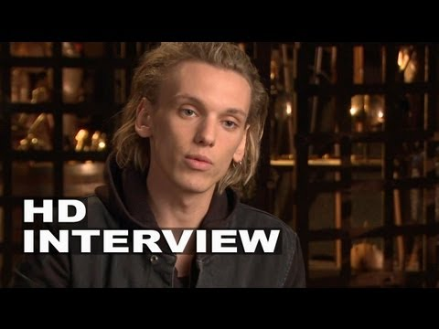 """The Mortal Instruments: City of Bones: Jamie Campbell Bower """"Jace"""" On Set Interview"""