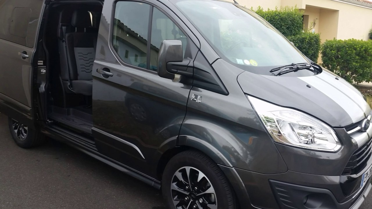 Souvent aménagement cabine approfondie Ford Transit custom sport - YouTube RS34