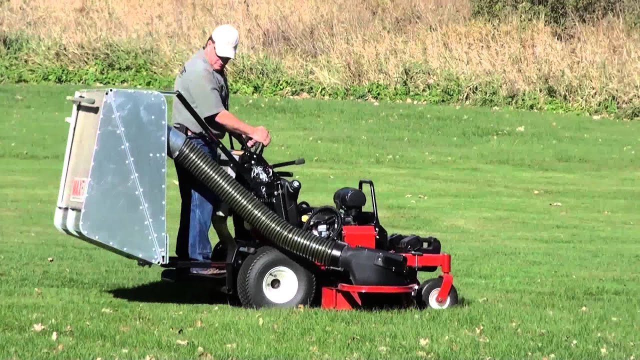 Stand On Mower Bagger Red Magic Performance Maxfill