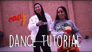 DaniLeigh - Easy (Remix) ft. Chris Brown Dance Tutorial by Hu Jeffery